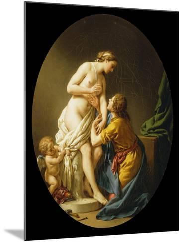 Pygmalion and Galatea, 1781-Louis Jean Francois I Lagrenee-Mounted Giclee Print