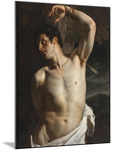 St. Sebastian-Hippolyte Delaroche-Mounted Giclee Print
