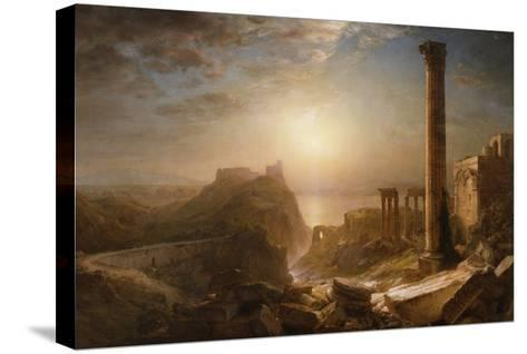 Syria by the Sea, 1873-Frederic Edwin Church-Stretched Canvas Print