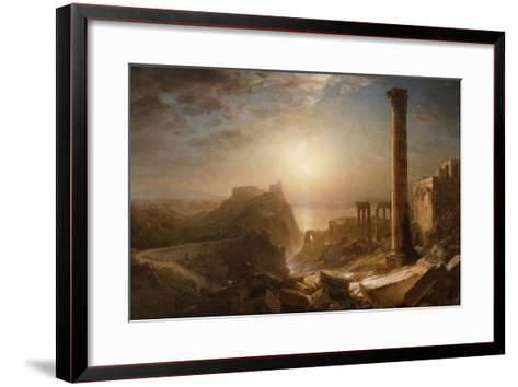 Syria by the Sea, 1873-Frederic Edwin Church-Framed Art Print