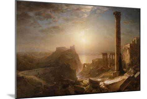 Syria by the Sea, 1873-Frederic Edwin Church-Mounted Giclee Print