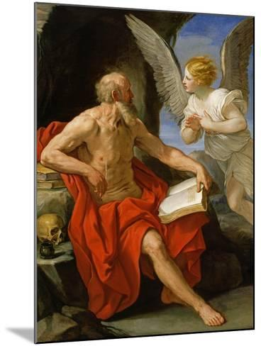 Angel Appearing to St. Jerome, c.1640-Guido Reni-Mounted Giclee Print