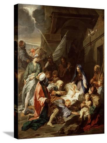 Adoration of the Magi, 1700/10-Jean-Baptiste Jouvenet-Stretched Canvas Print