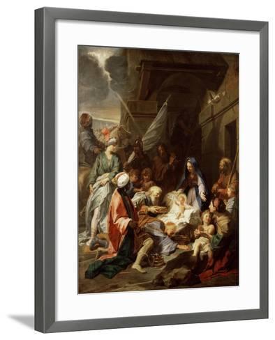 Adoration of the Magi, 1700/10-Jean-Baptiste Jouvenet-Framed Art Print