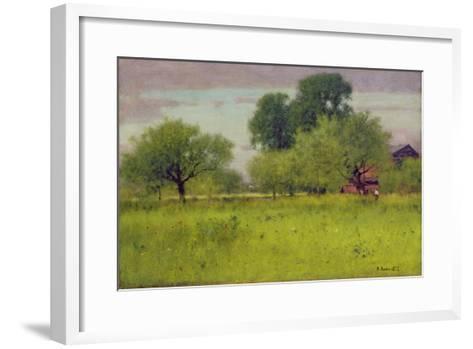 Apple Orchard, 1892-George Snr^ Inness-Framed Art Print