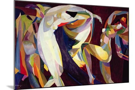 Dances, 1914/15-Arthur Bowen Davies-Mounted Giclee Print