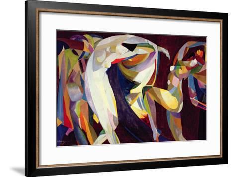 Dances, 1914/15-Arthur Bowen Davies-Framed Art Print