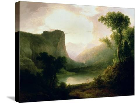 In Nature's Wonderland, 1835-Thomas Doughty-Stretched Canvas Print