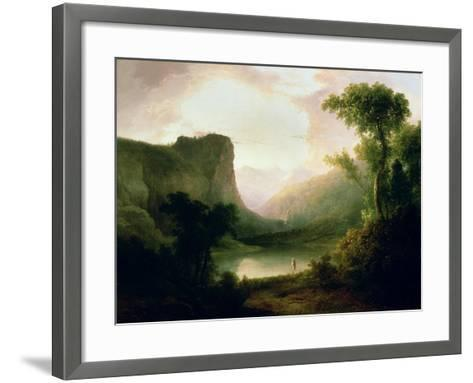 In Nature's Wonderland, 1835-Thomas Doughty-Framed Art Print