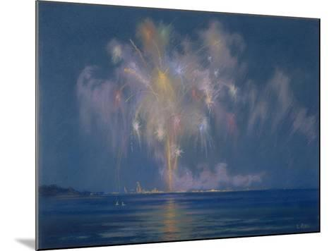The Grand Finale, Late 19th-Early 20th Century (Pastel on Paper)-Lendall Pitts-Mounted Giclee Print