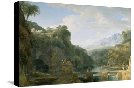 Landscape of Ancient Greece, 1786-Pierre Henri de Valenciennes-Stretched Canvas Print