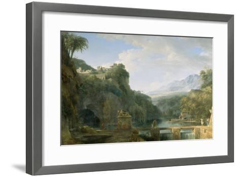 Landscape of Ancient Greece, 1786-Pierre Henri de Valenciennes-Framed Art Print