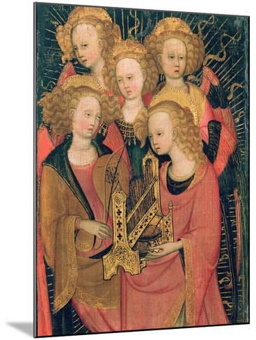 Angel Musicians (Oil on Panel)-Stefano di Giovanni da Verona-Mounted Giclee Print