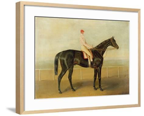 Voltigeur, with Job Marson Up-Samuel Spode-Framed Art Print
