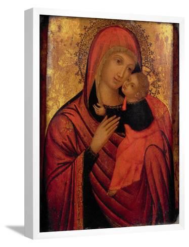 Madonna and Child, C.1650 (Panel)- Veneto-Byzantine-Framed Art Print