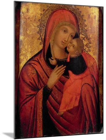 Madonna and Child, C.1650 (Panel)- Veneto-Byzantine-Mounted Giclee Print