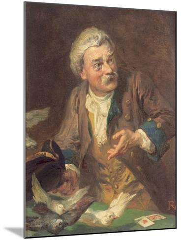 The Conjuror-Robert Alexander Hillingford-Mounted Giclee Print