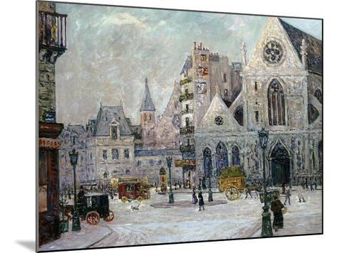The Church of St. Nicolas-Des-Champs, Rue St. Martin, Paris, 1908-Maxime Emile Louis Maufra-Mounted Giclee Print