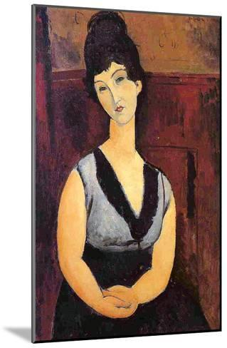 The Beautiful Confectioner, 1916-Amedeo Modigliani-Mounted Giclee Print