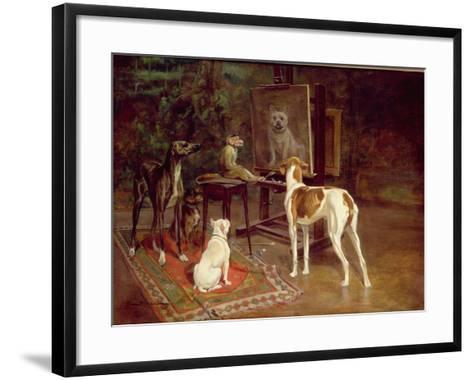 The Critics-A^ Vimar-Framed Art Print