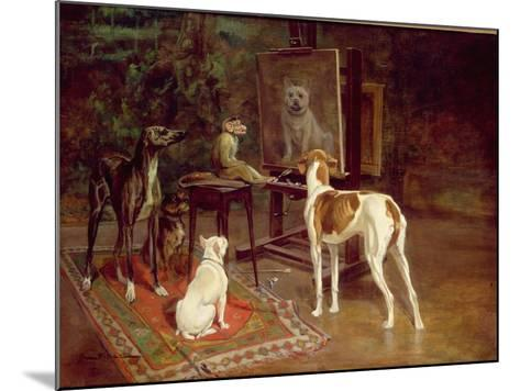The Critics-A^ Vimar-Mounted Giclee Print