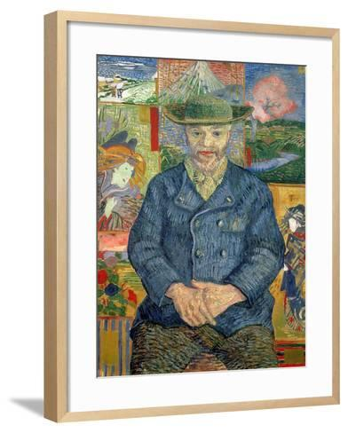 Pere Tanguy (Father Tanguy), 1887-88-Vincent van Gogh-Framed Art Print