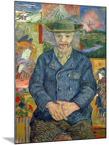 Pere Tanguy (Father Tanguy), 1887-88-Vincent van Gogh-Mounted Giclee Print