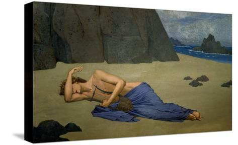 The Lamentation of Orpheus-Alexandre Seon-Stretched Canvas Print