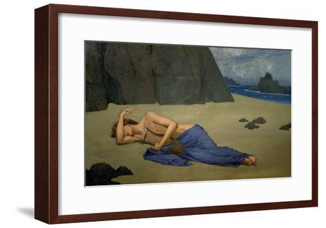 The Lamentation of Orpheus-Alexandre Seon-Framed Art Print