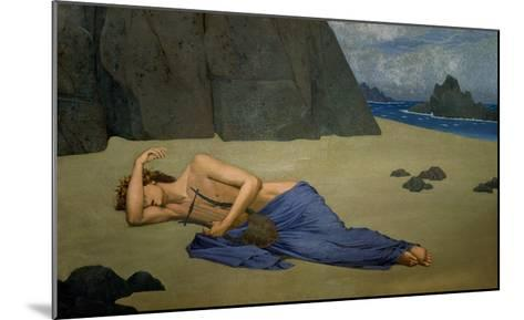 The Lamentation of Orpheus-Alexandre Seon-Mounted Giclee Print