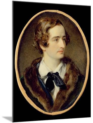 Portrait Miniature of John Keats (W/C on Ivory) (Detail of 67539)--Mounted Giclee Print