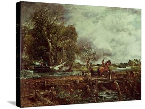 The Leaping Horse, c.1825-John Constable-Stretched Canvas Print