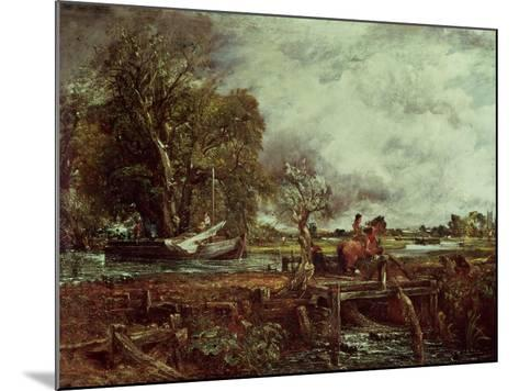 The Leaping Horse, c.1825-John Constable-Mounted Giclee Print