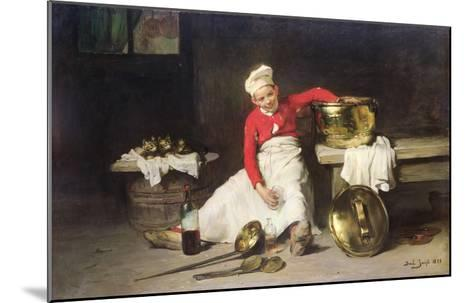 Kitchen-Boy, 1893-Joseph Bail-Mounted Giclee Print