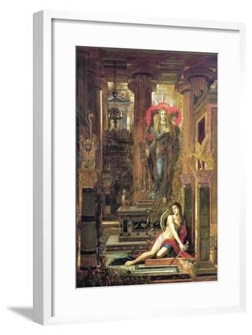 Orestes and the Erinyes, 1891-Gustave Moreau-Framed Art Print
