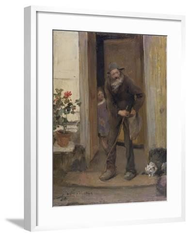 The Beggar, 1881-Jules Bastien-Lepage-Framed Art Print