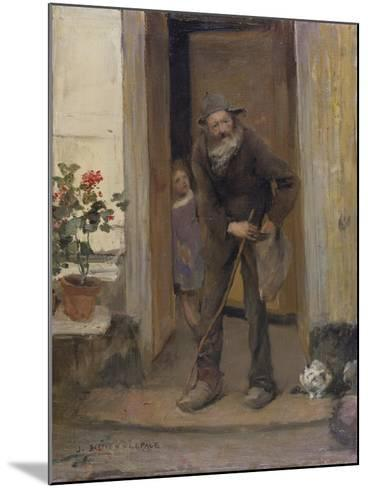 The Beggar, 1881-Jules Bastien-Lepage-Mounted Giclee Print