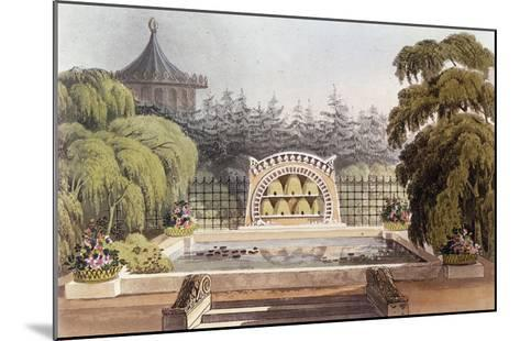 An Apiary, from 'Hints on Ornamental Gardening', 1822 (Colour Litho)-John Buonarotti Papworth-Mounted Giclee Print
