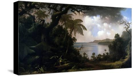 Jamaica, View from Fern-Tree Walk, 1887-Martin Johnson Heade-Stretched Canvas Print