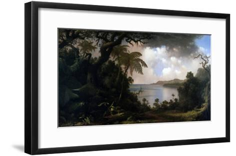 Jamaica, View from Fern-Tree Walk, 1887-Martin Johnson Heade-Framed Art Print