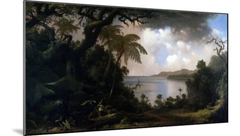 Jamaica, View from Fern-Tree Walk, 1887-Martin Johnson Heade-Mounted Giclee Print