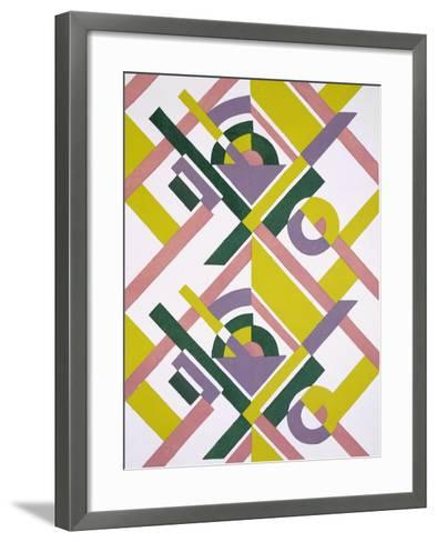 Design from 'Nouvelles Compositions Decoratives', Late 1920S (Pochoir Print)-Serge Gladky-Framed Art Print