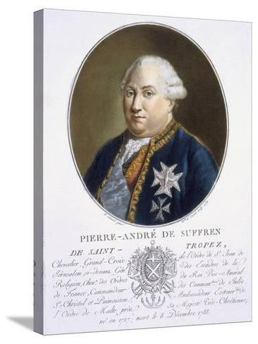 Pierre-Andre De Suffren De St Tropez-Antoine Louis Francois Sergent-marceau-Stretched Canvas Print