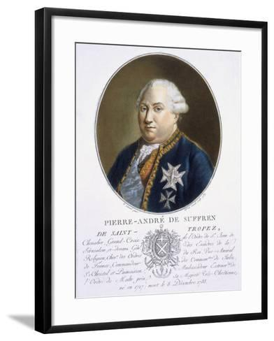 Pierre-Andre De Suffren De St Tropez-Antoine Louis Francois Sergent-marceau-Framed Art Print