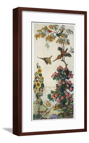 Magnum Opus: Pheasants, Pub. 1933 (Colour Litho)-Harry Wearne-Framed Art Print