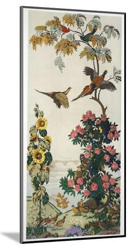 Magnum Opus: Pheasants, Pub. 1933 (Colour Litho)-Harry Wearne-Mounted Giclee Print