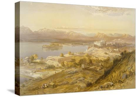 Oodypure, from 'India Ancient and Modern', 1867 (Colour Litho)-William 'Crimea' Simpson-Stretched Canvas Print