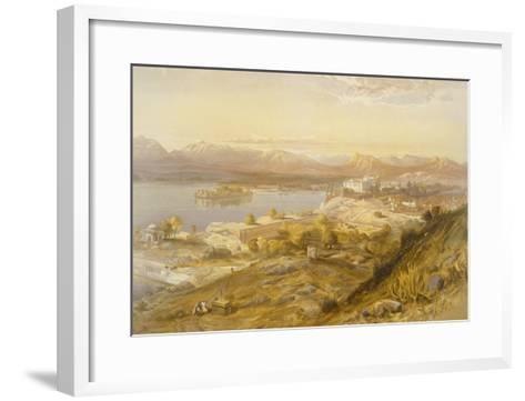 Oodypure, from 'India Ancient and Modern', 1867 (Colour Litho)-William 'Crimea' Simpson-Framed Art Print