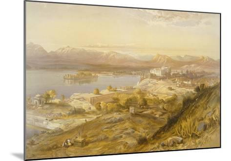 Oodypure, from 'India Ancient and Modern', 1867 (Colour Litho)-William 'Crimea' Simpson-Mounted Giclee Print