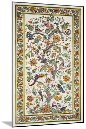 Tree of Life, Pub. 1933 (Colour Litho)-Harry Wearne-Mounted Giclee Print